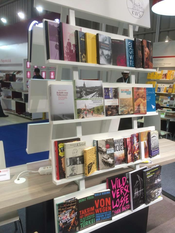Safiye CAN_Tüyap Istanbul International Book Fair_KWS_Kurt Wolf Stiftung_